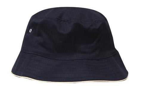 Brushed Sports Twill Bucket Hat 4223