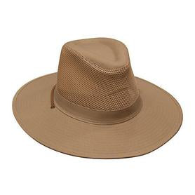 Collapsible Cotton Twill & Soft Mesh Hat 4277