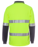 6HVSL JBs Hi Vis Long Sleeve (Day & Night) Trade Polo