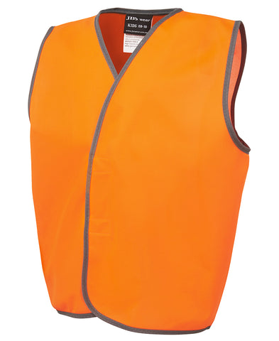 JBs Hi Vis Kids Safety Vest 6HVSU