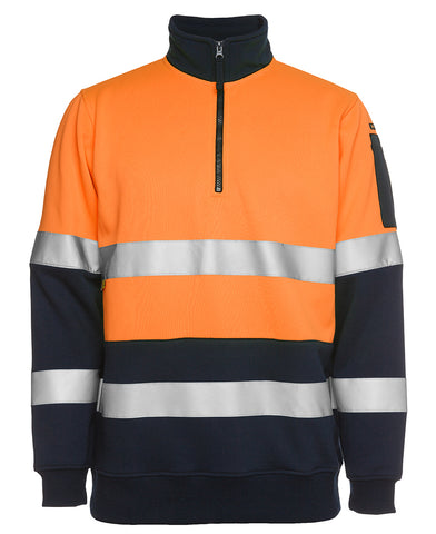 JBs Hi Vis Day/Night 1/2 Zip Fleecy Sweat 6HZFS