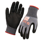 AND Synthetic Gloves (Cut Resistant Cut 5 Rating) Arax Wet Grip Arax Liner With Nitrile Dip Palm