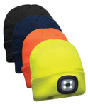 B029 Beanie LED Headlight USB Rechargeable