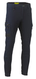 Bisley Mens Flex & Move Stretch Denim Cuffed Cargo Pant BPC6335