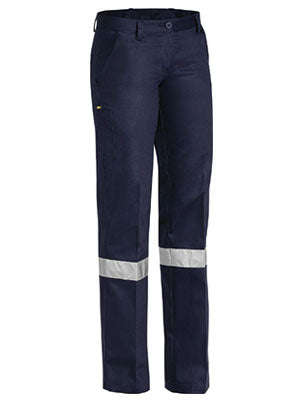 BPL6007T Bisley Womens 3m Taped Original Work Pant