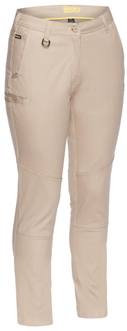 Bisley Womens Mid Rise Stretch Cotton Pant BPL6015