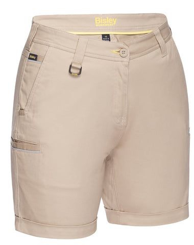 Bisley Ladies Stretch Short BSHL1015