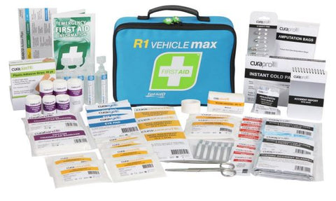 R1 Vehicle Max First Aid Kit Soft Pack FAR1V30