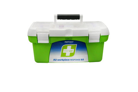 R2 Workplace Response First Aid Kit Tackle Box Portable FAR222