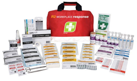 R2 Workplace Response First Aid Kit Soft Pack FAR230