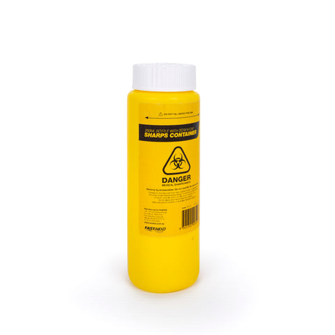 Sharps Container Plastic 250ml FSC002