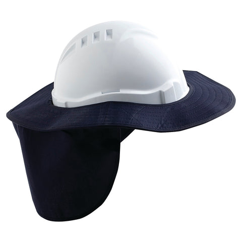 Pro Choice Hard Hat Brim With Neck Flap HHB