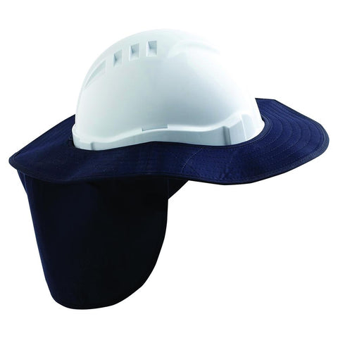 Pro Choice Hard Hat Brim With Neck Flap HHBNF