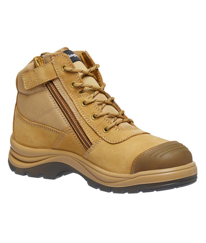 King Gee Tradie Zip Sided Safety Boot K27100