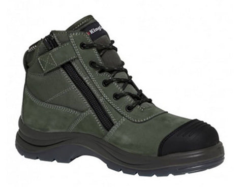 King Gee Tradie Zip Sided Safety Boot K27110