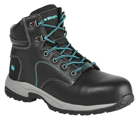 King Gee Ladies Tradie Zip Sided Safety Boot K27360
