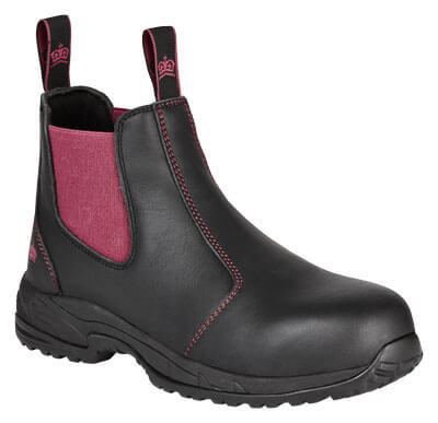 King Gee Ladies Elastic Sided Safety Boot K27390