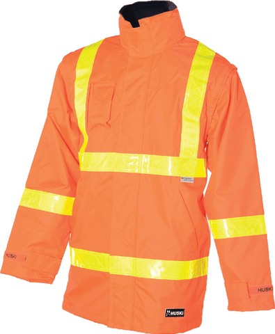 Huski Hi Vis Roads 2-in-1 Jacket K8155