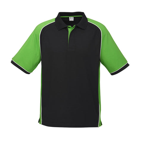 P10112 Nitro Mens Polo 65pct Polyester 35pct Cotton
