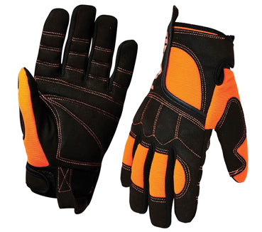 PV2XL Synthetic Gloves (Leather) Pro Vibe Anti Vibration