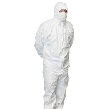 Hazguard MP5 Disposable Coverall Breathable Water Resistant for Type 5 & 6 Applications (25/carton)