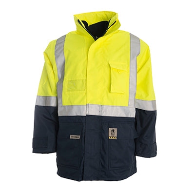 184052 4 in 1 Hi Vis Jacket and Vest Combination