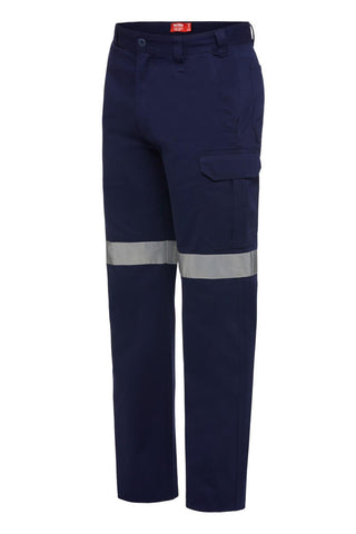 Y02575 Hard Yakka Core Cotton Drill Cargo pant with reflective tape