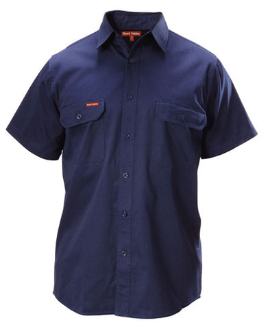 Y07510 Hard Yakka Cotton Drill Short Sleeve Shirt
