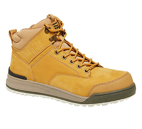 Y60200 Hard Yakka 3056 Lace Up Zip Sided Steel Cap - Safety Boot