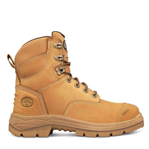 55332 Oliver AT Lace Up 150mm Steel Toe Bump Cap - Safety Boot