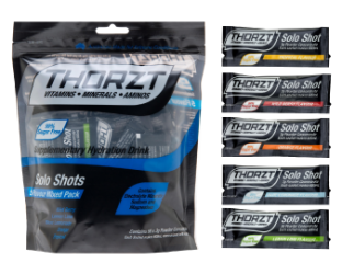 Thorzt Sugar Free Solo Shot 50x3g Mixed Flavours SSSFMIX (Pack 50)