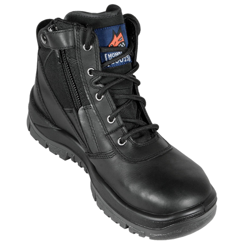 261020 Mongrel Zip Sided Lace Up Steel Toe - Safety Boot