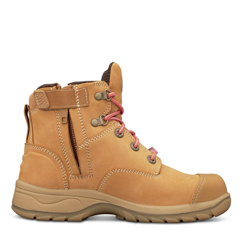 5f75d5a53d6 49432Z Oliver Ladies Zip Sided Lace Up Steel Toe Bump Cap - Safety ...