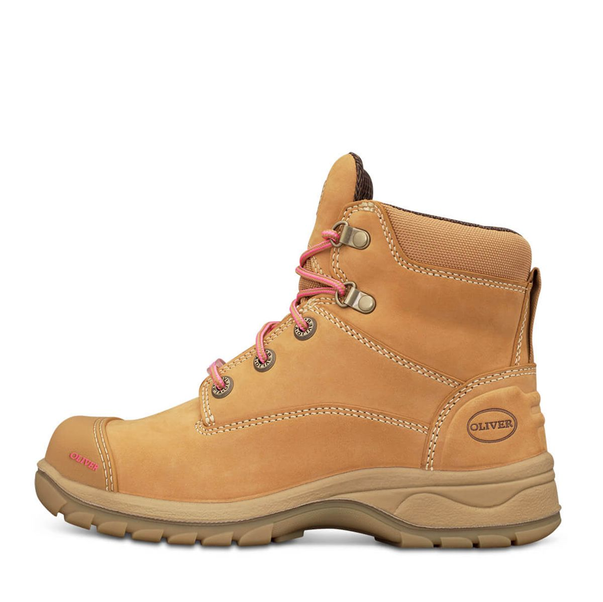 4e56be7719c 49432Z Oliver Ladies Zip Sided Lace Up Steel Toe Bump Cap - Safety Boot