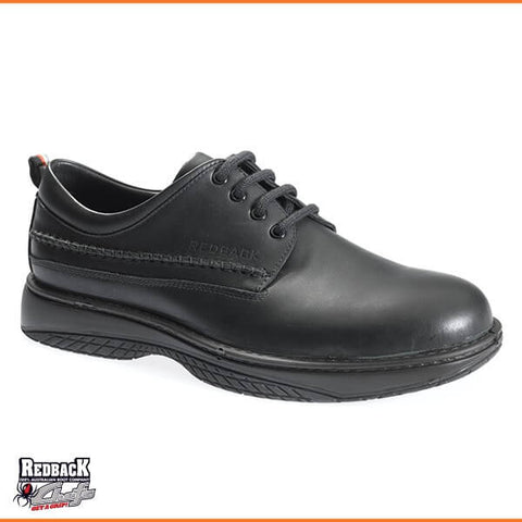 RWBN Waiter Soft Toe Black Nappa - Non Safety Shoe