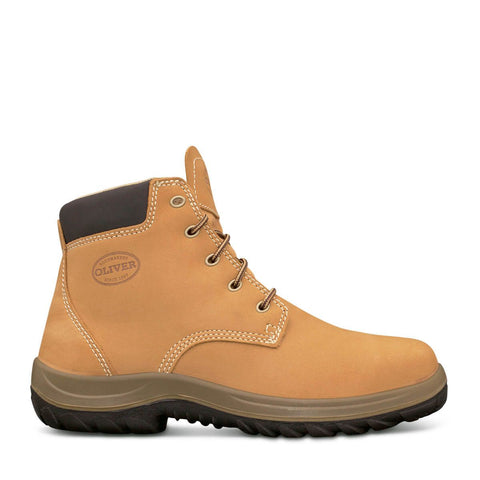 34632 Oliver Lace Up Steel Toe - Safety Boot