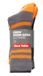 Yakka Crew Sock Multi Colour 7-12 (5 Pack)
