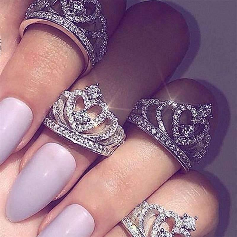 Princess Crown Ring - Rebot Deals