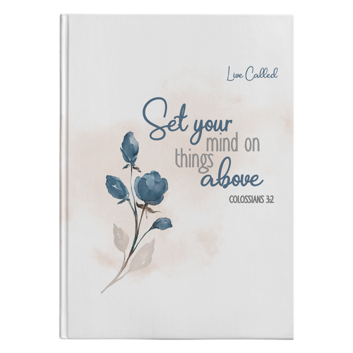 Set Your Mind - Hardcover Journal