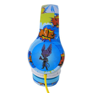 Casque audio Dragon Ball Super Goku & Beerus--Teknofun