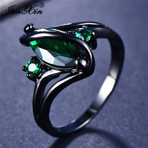 112 Color Mystery Rainbow Ring BQ Emporium 10 Green