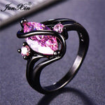 112 Color Mystery Rainbow Ring BQ Emporium 10 Pink