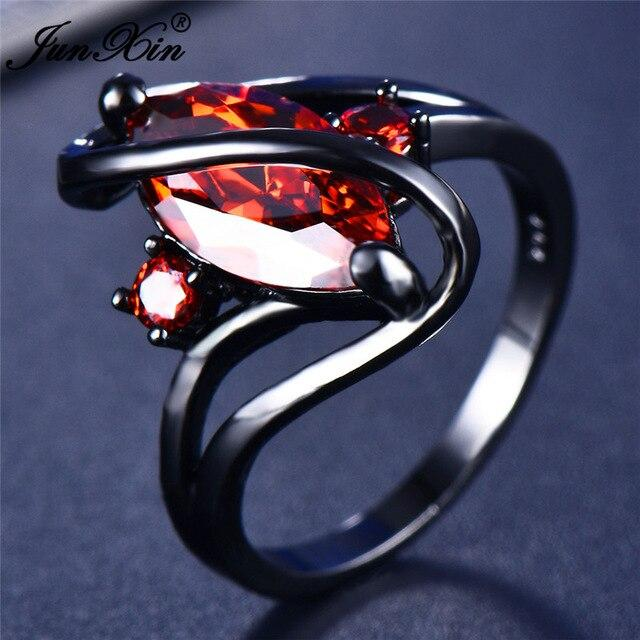 112 Color Mystery Rainbow Ring BQ Emporium 10 Red