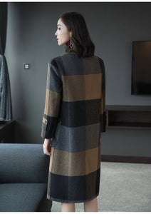 Alicia - Double-faced Cashmere Woolen Coat