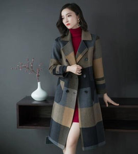 Alicia - Double-faced Cashmere Woolen Coat coat BQ Emporium Photo Color M