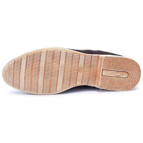 Image of Casual Lace-Up Brown Shoes shoes BQ Emporium