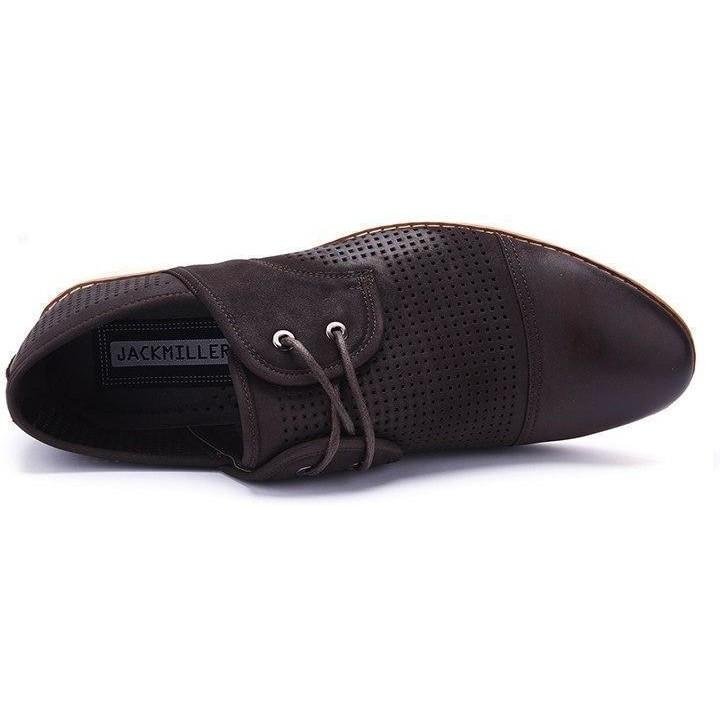 Casual Lace-Up Brown Shoes shoes BQ Emporium