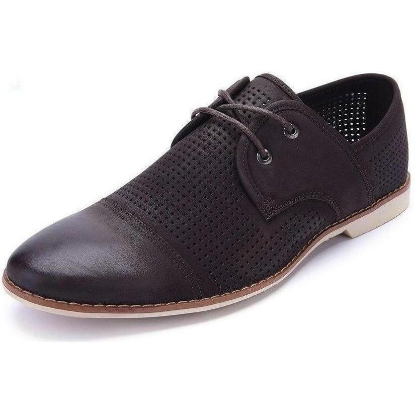 Casual Lace-Up Brown Shoes shoes BQ Emporium BROWN 7