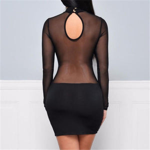Laurel - Sexy Bandage Mini Dress♠️
