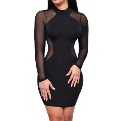 Laurel - Sexy Bandage Mini Dress dress BQ Emporium